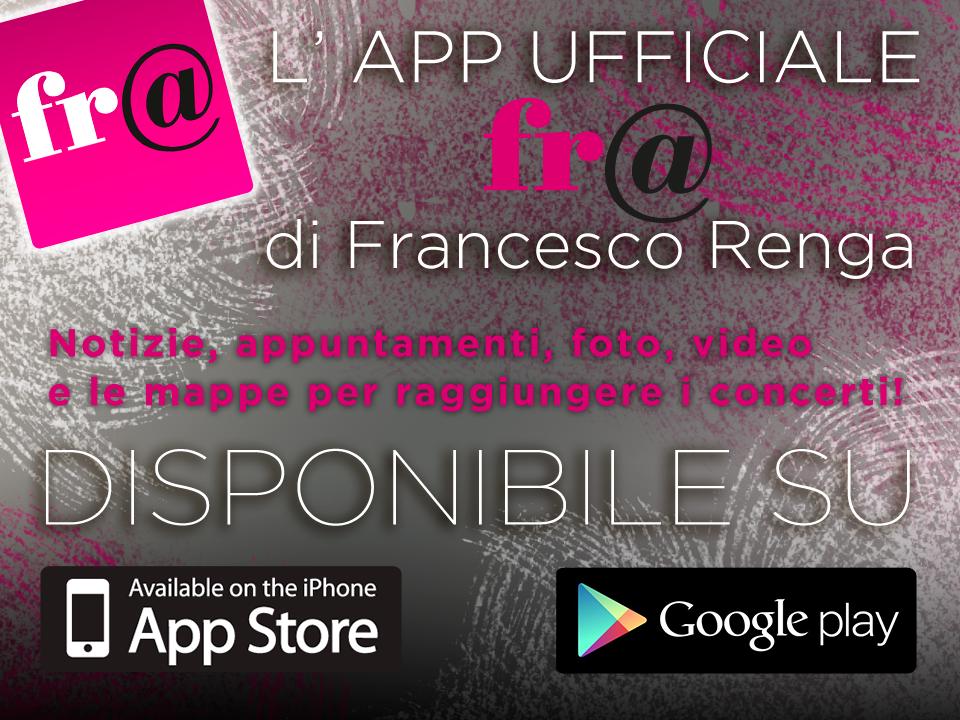 francesco renga app ufficiale