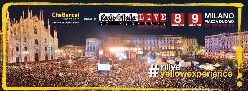 rilive2016 radio italia live 2016