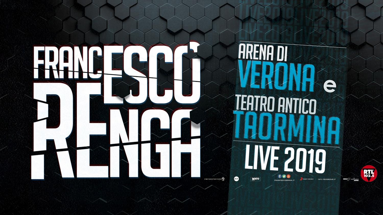 Francesco Renga Verona Taormina Live 2019
