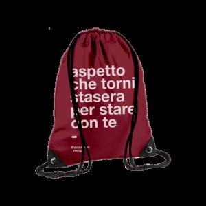 """Bag """"Aspetto Che Torni"""""""
