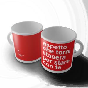 """Mug """"Aspetto Che Torni"""""""