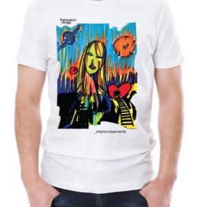 """T-shirt """"Improvvisamente"""" Uomo"""