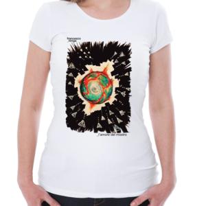 """T-shirt """"l'amore Del Mostro"""" Donna"""