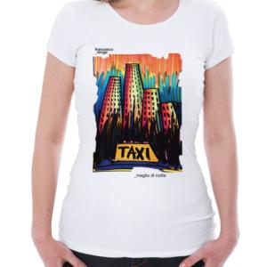 """T-shirt """"Meglio Di Notte"""" Donna"""