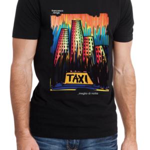 """T-shirt """"Meglio Di Notte"""" Uomo"""
